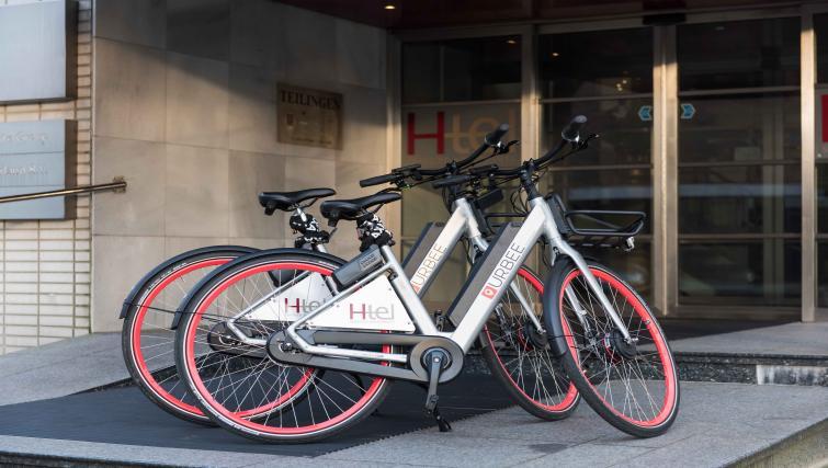 Bikes at Htel Amsterdam Buitenveldert - Citybase Apartments