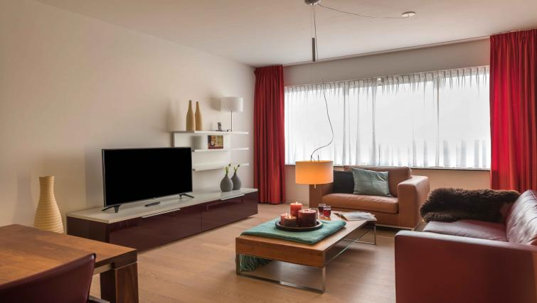 Living room at Htel Amsterdam Buitenveldert - Citybase Apartments