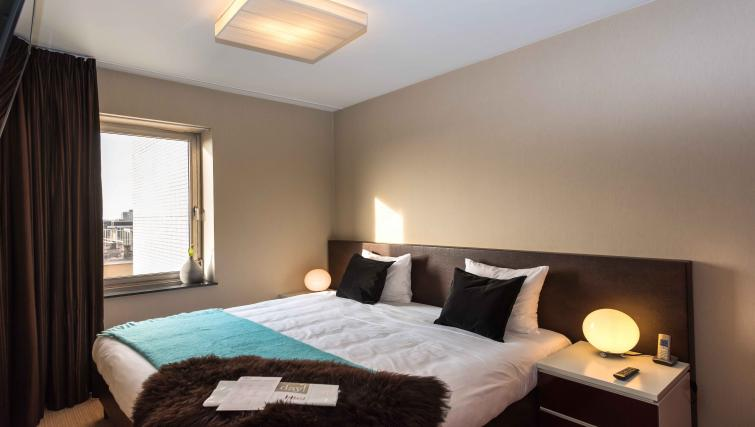 Master bedroom at Htel Amsterdam Buitenveldert - Citybase Apartments