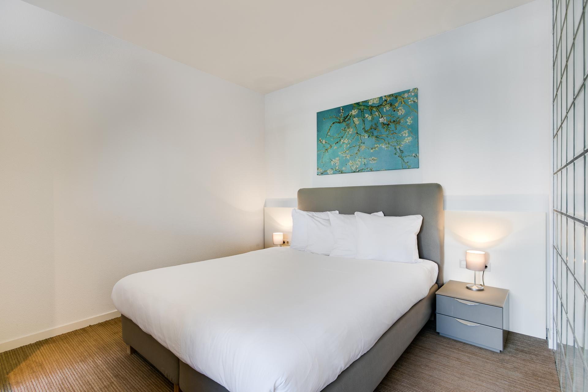 Bedroom at Htel Amstelveen, Amsterdam - Citybase Apartments