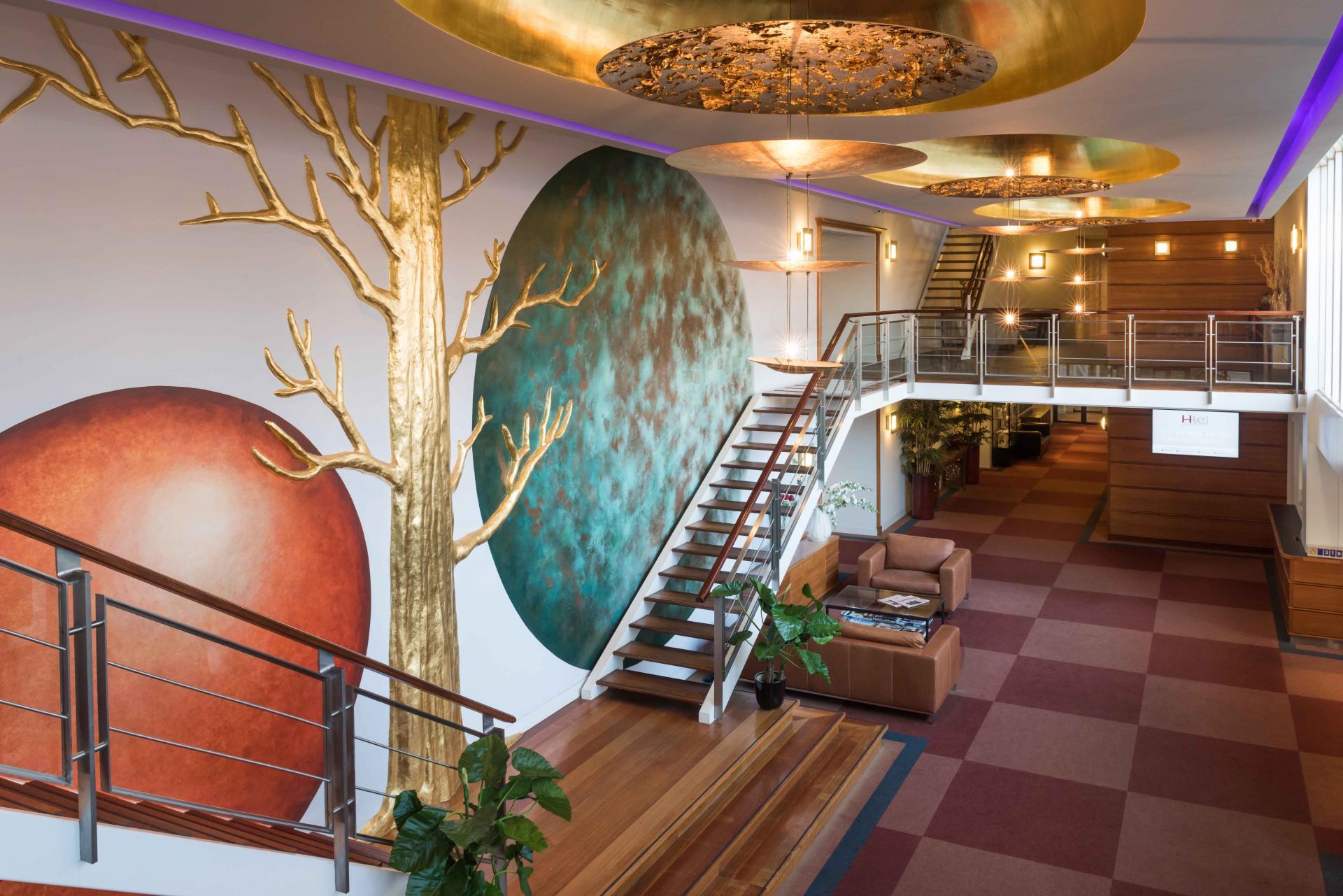 Lobby at Htel Amstelveen, Amsterdam - Citybase Apartments