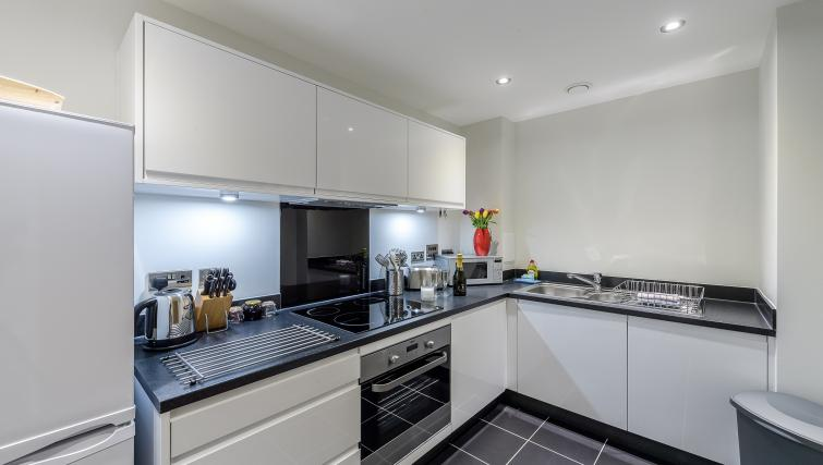 Kitchen at Flying Butler Colindale Apartments - Citybase Apartments
