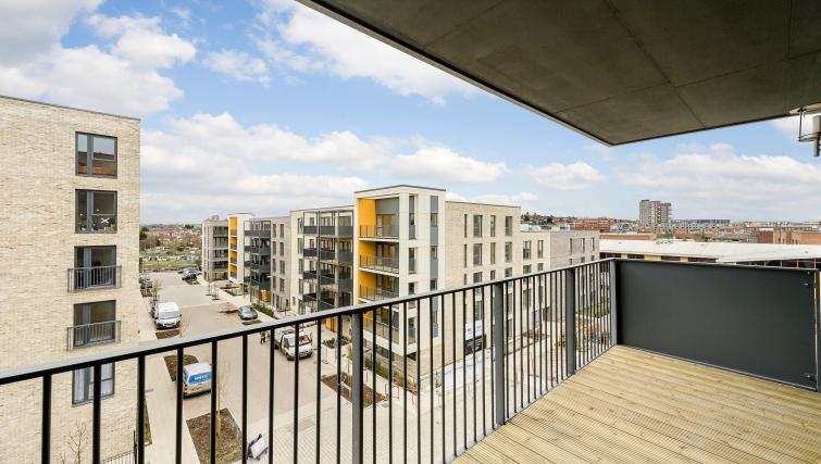 Balcony at Flying Butler Colindale Apartments - Citybase Apartments