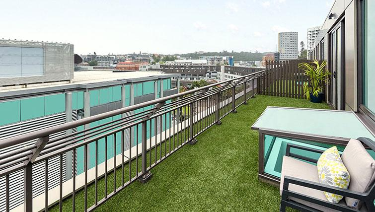 Rooftop at Britomart Apartments - Citybase Apartments