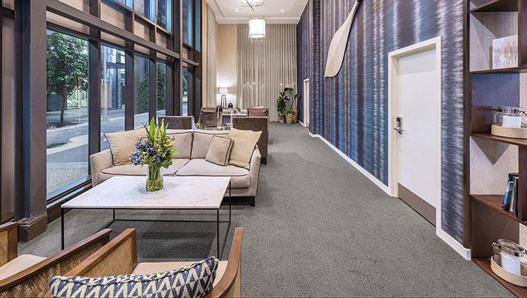 communal area at Britomart Apartments - Citybase Apartments