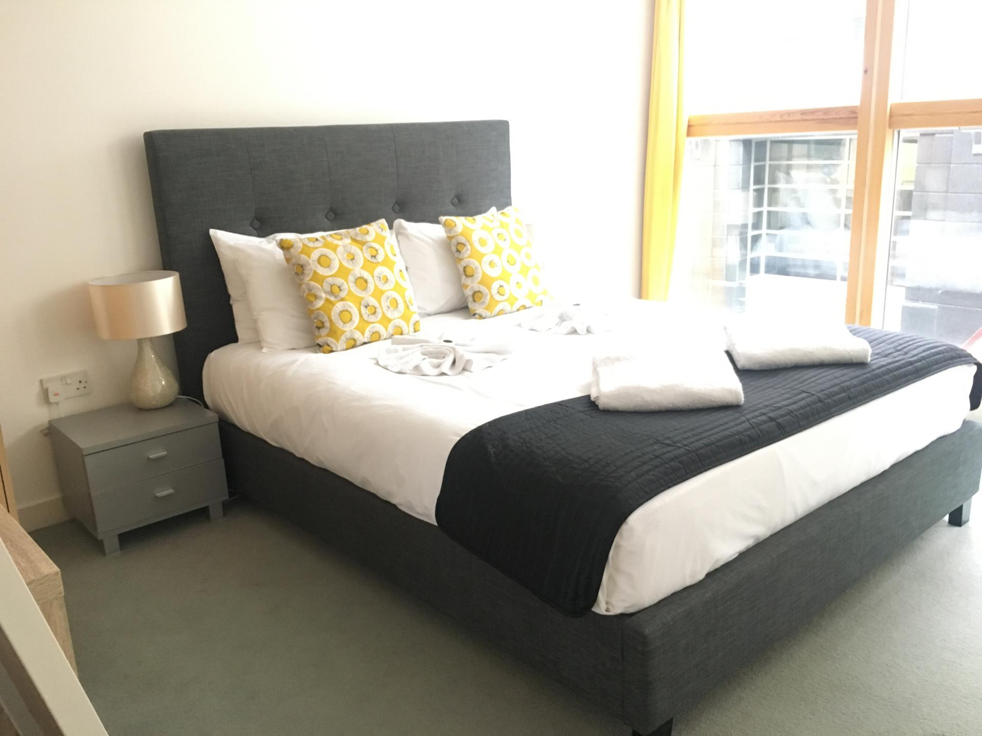 Bedroom at Still Life Old Street Deluxe - Citybase Apartments