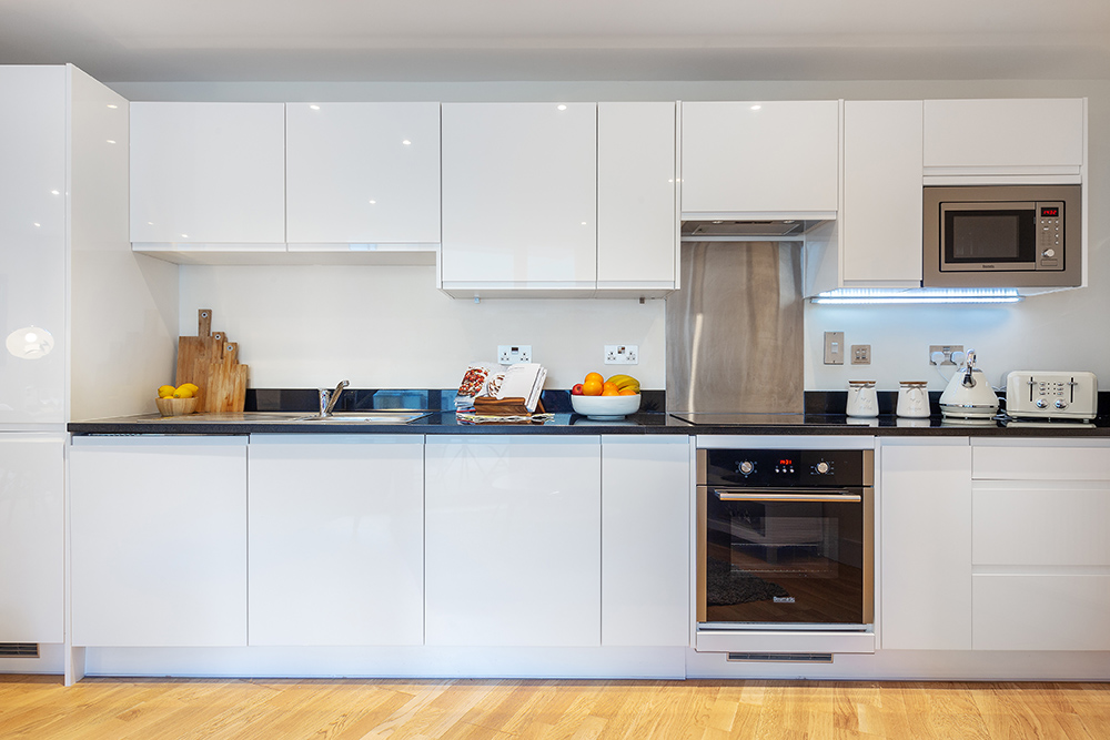 Kitchen at Canary Gateway - Citybase Apartments
