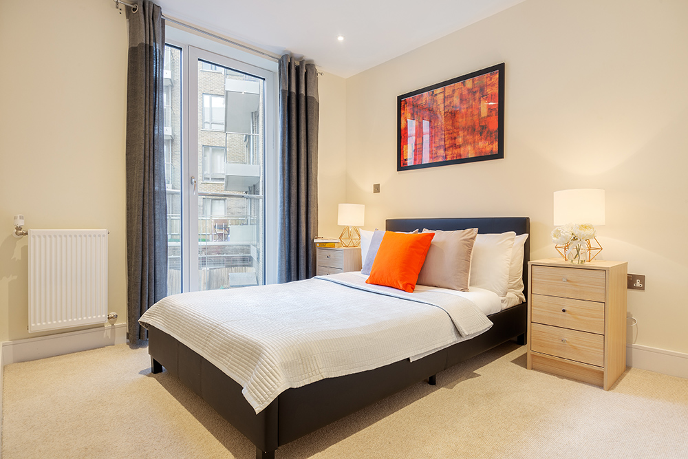 Bedroom at Canary Gateway - Citybase Apartments