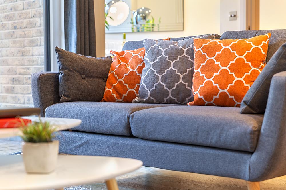 Sofa at Canary Gateway - Citybase Apartments