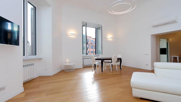 Living space at Tritone Apartment - Citybase Apartments