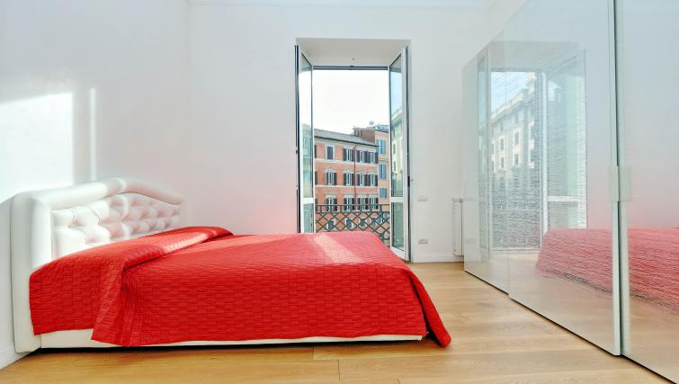 Bedroom at Tritone Apartment - Citybase Apartments