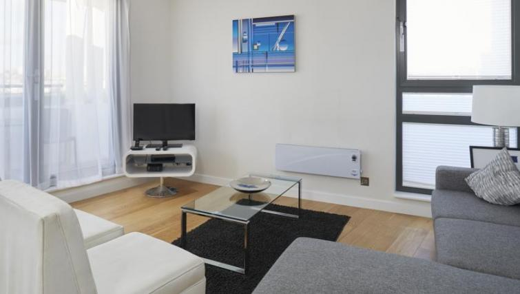 Living space at SACO Fitzrovia - Citybase Apartments