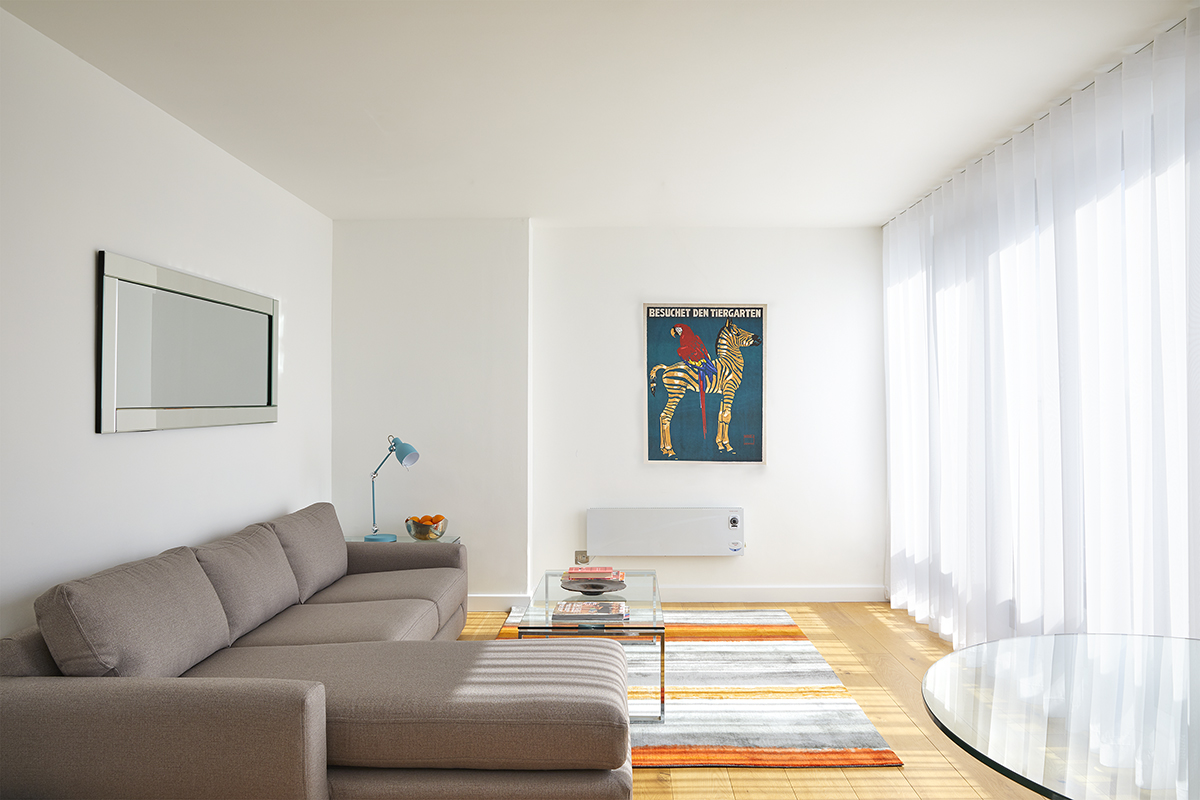 Lounge area at SACO Fitzrovia - Citybase Apartments