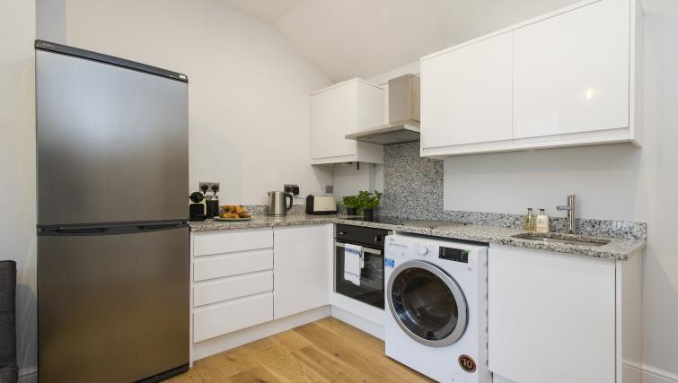 Kitchen at Market Street Apartments - Citybase Apartments