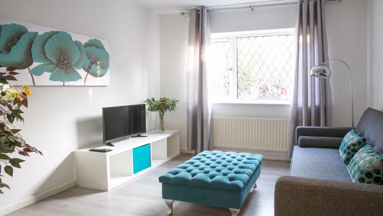 Living room at the The Addenbrooke's Suite - Citybase Apartments