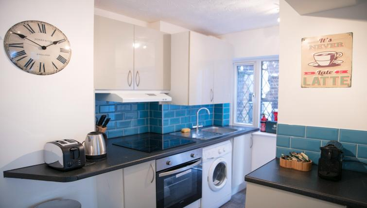 Kitchen at the The Addenbrooke's Suite - Citybase Apartments