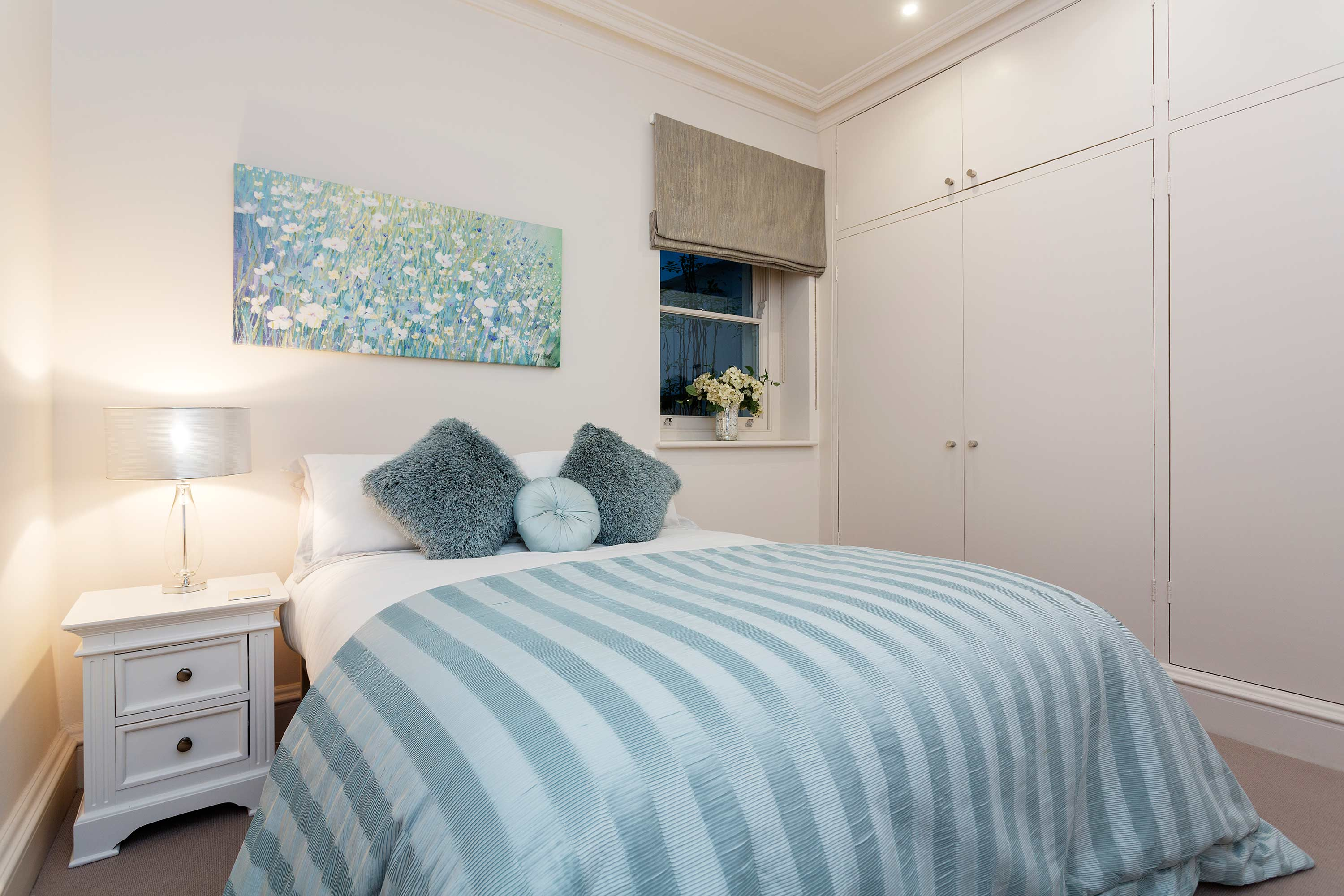 Stylish bedroom at Redcliffe Retreat Apartment - Citybase Apartments