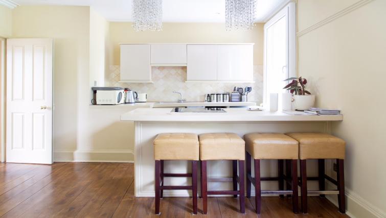 Kitchen at the Cambridge City Apartments - Citybase Apartments