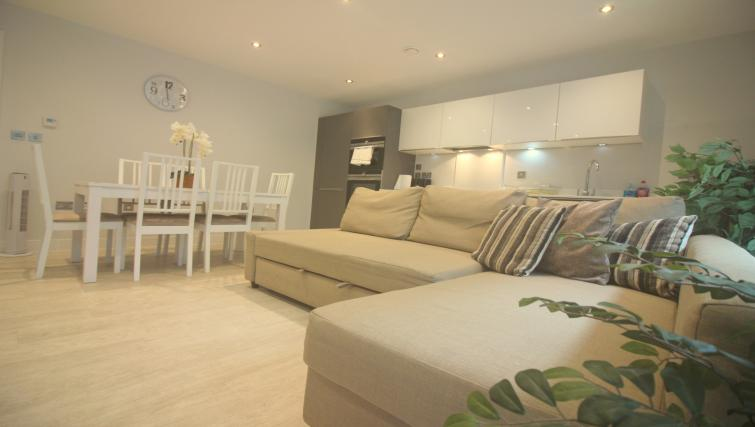 Furnishings at the The Station Suite - Citybase Apartments