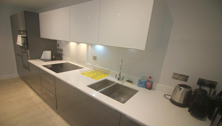 Kitchen facilities at the The Station Suite - Citybase Apartments