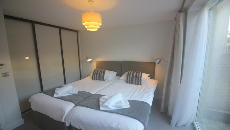 Big beds at the The Station Suite - Citybase Apartments