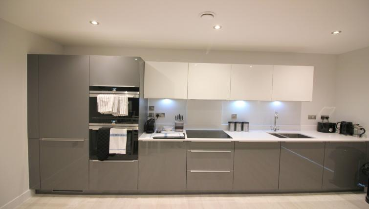 Kitchen at the The Station Suite - Citybase Apartments