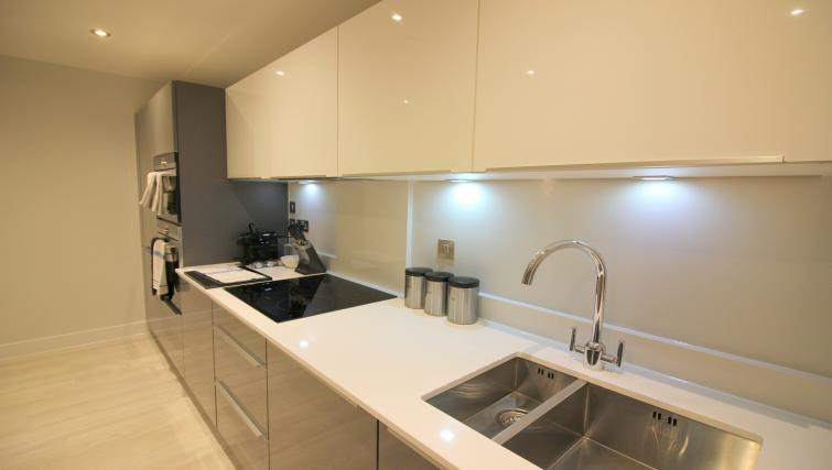 Modern kitchen at the The Station Suite - Citybase Apartments