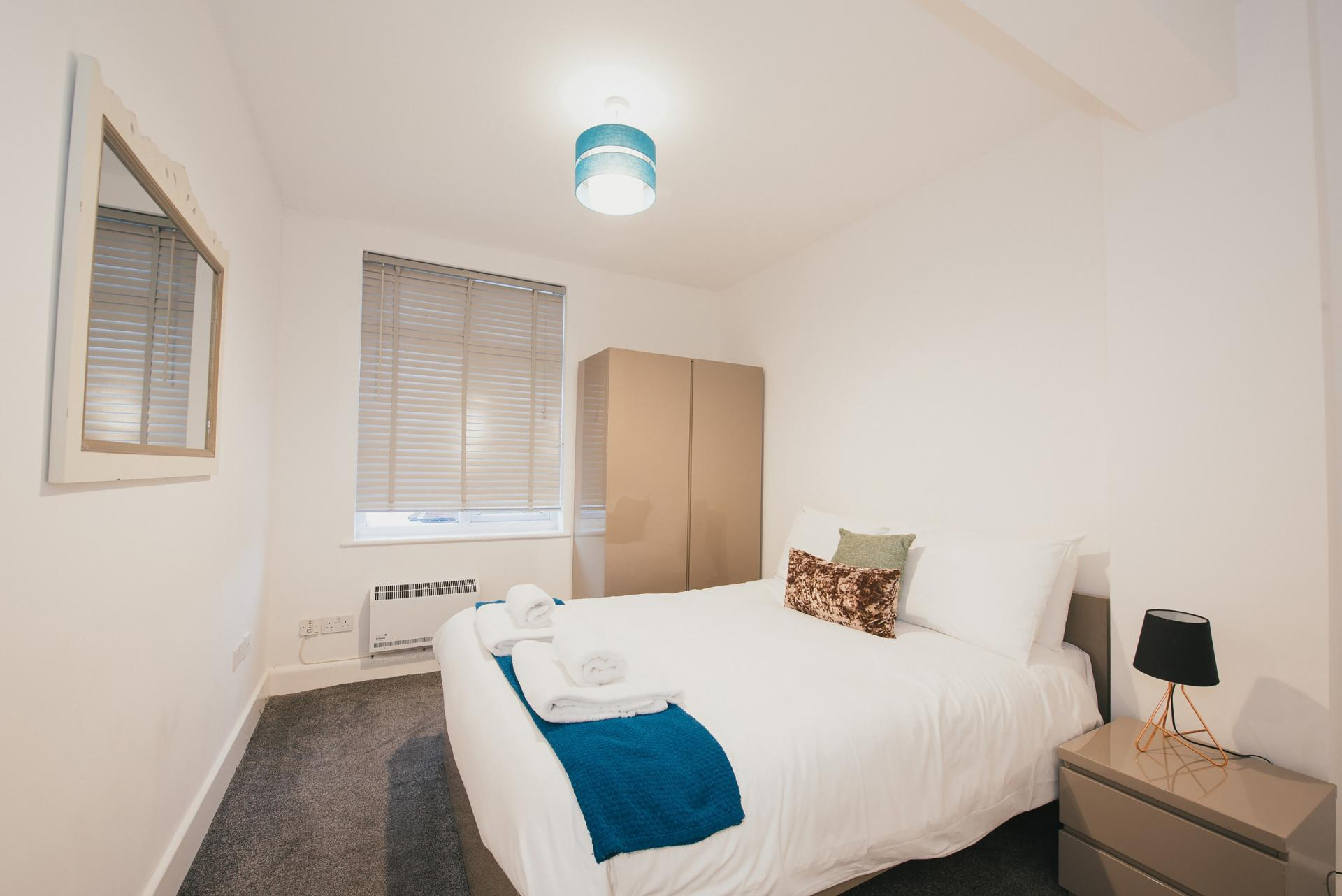 Bed at Arbury Road Apartments, Chesterton, Cambridge - Citybase Apartments