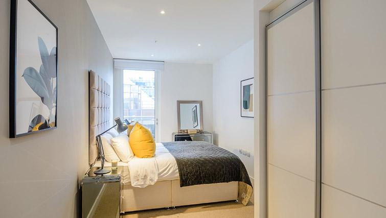 Bright bedroom at Victoria Street Apartments - Citybase Apartments
