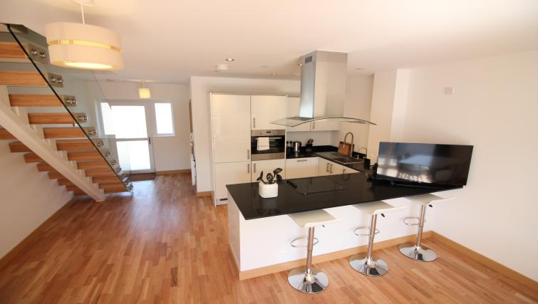 Equipped kitchen at Peymans Grand Central Apartments - Citybase Apartments