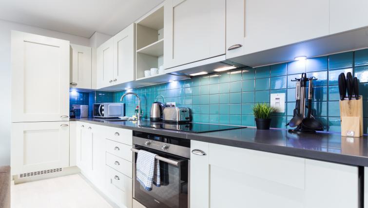 Kitchen at Farringdon Apartments - Citybase Apartments