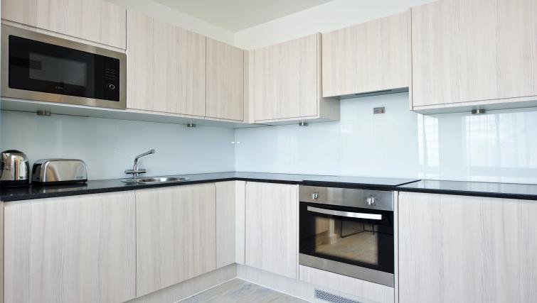 Equipped kitchen at Staycity Manchester Piccadilly - Citybase Apartments