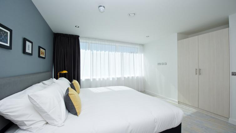 Ideal bedroom at Staycity Manchester Piccadilly - Citybase Apartments