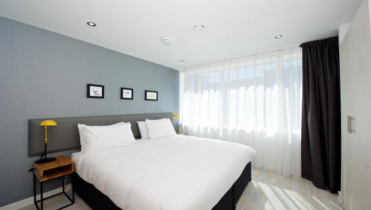 Double bed in Staycity Manchester Piccadilly - Citybase Apartments