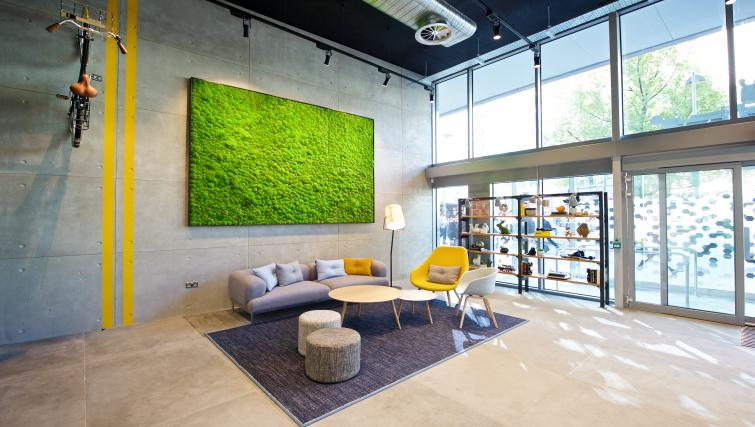 Lobby in Staycity Manchester Piccadilly - Citybase Apartments