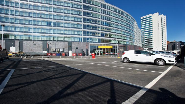 Car park at Staycity Manchester Piccadilly - Citybase Apartments