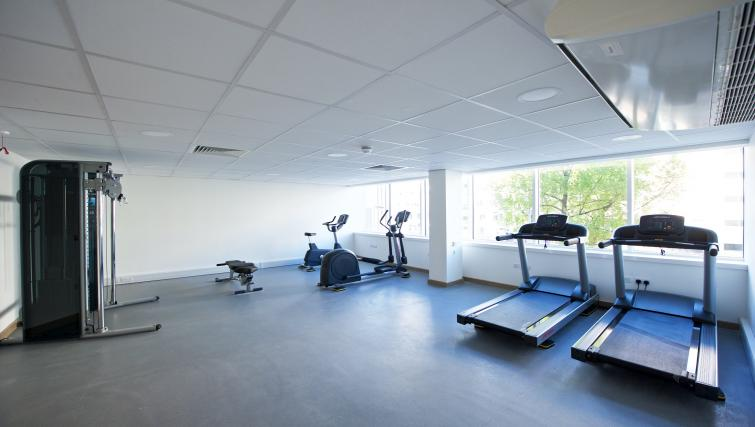 Gym at Staycity Manchester Piccadilly - Citybase Apartments