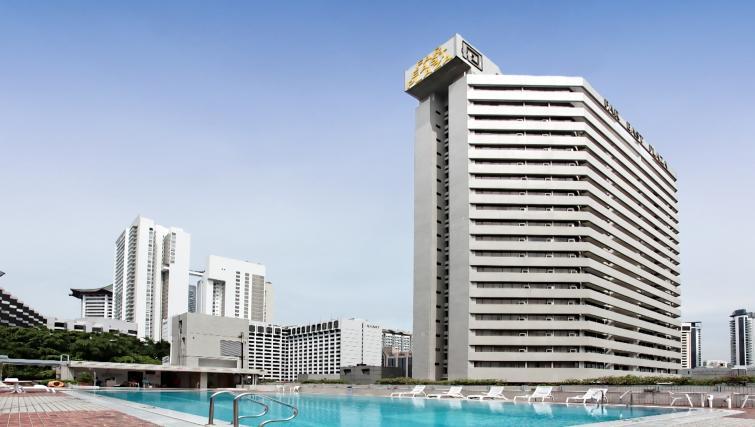 Exterior of Far East Plaza Residences, Singapore - Citybase Apartments