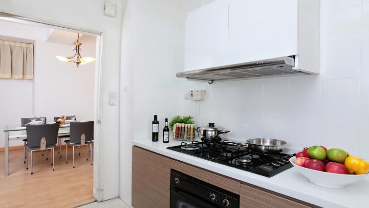 Kitchen at Far East Plaza Residences, Singapore - Citybase Apartments