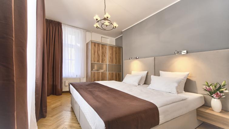 Cosy bed at Maiselova 5 Apartment - Citybase Apartments