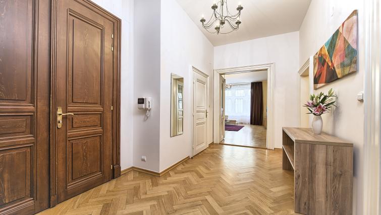 Hall at Maiselova 5 Apartment - Citybase Apartments
