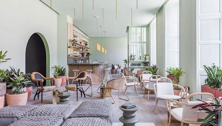 Lobby at SACO Eden Locke - Edinburgh - Citybase Apartments