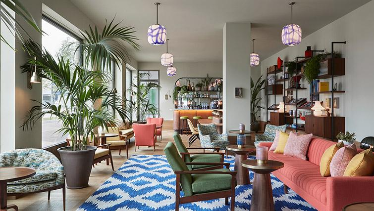 Lounge at Hotel Twenty Eight Apartments, Amsterdam - Citybase Apartments