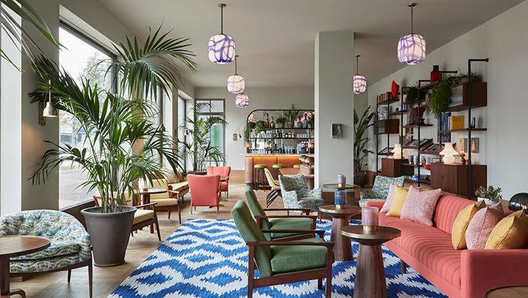 Lounge at Hotel Twenty Eight Apartments, Amsterdam - Citybase Apartments
