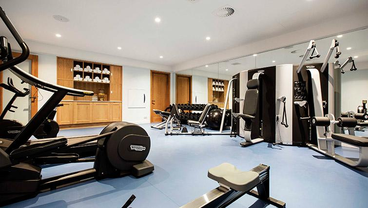 Fitness centre at Hotel Twenty Eight Apartments, Amsterdam - Citybase Apartments