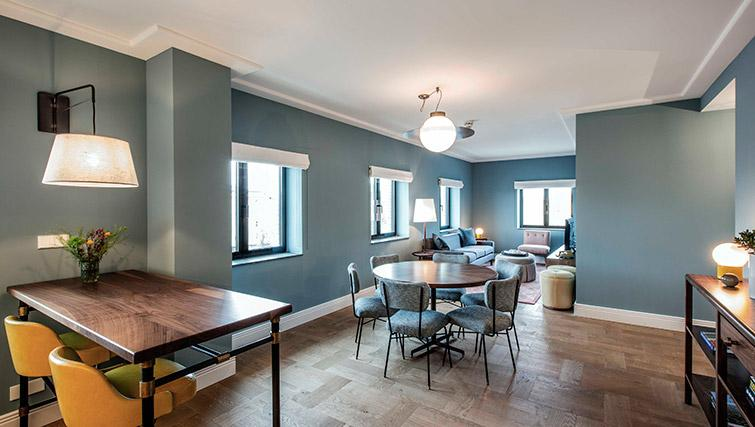 Dining area at Hotel Twenty Eight Apartments, Amsterdam - Citybase Apartments