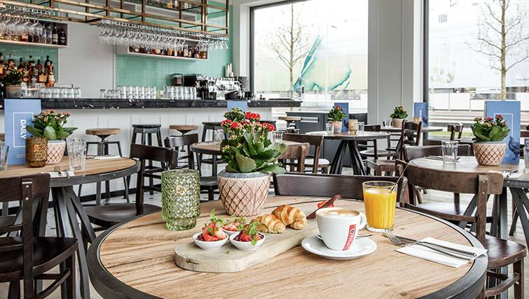 Cafe at Hotel Twenty Eight Apartments, Amsterdam - Citybase Apartments