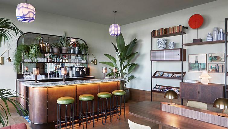 Bar at Hotel Twenty Eight Apartments, Amsterdam - Citybase Apartments