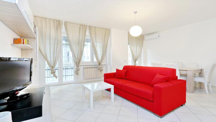 Living room at Rodriguez Pereira Apartment - Citybase Apartments