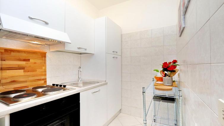Kitchen at Rodriguez Pereira Apartment - Citybase Apartments